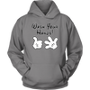 Wash Your Hands, Mickey Gloves, Unisex Hoodie, TL