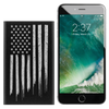 USA Flag - Etched Portable Power Bank