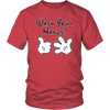 Wash Your Hands, Mickey Gloves, Unisex T-Shirt, TL