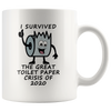 I Survived the Great Toilet Paper Crisis of 2020, Mug
