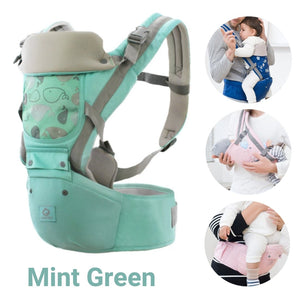 Bebetho™ Hipseat Ergonomic Baby Carrier (6 in 1) - Bluthopia