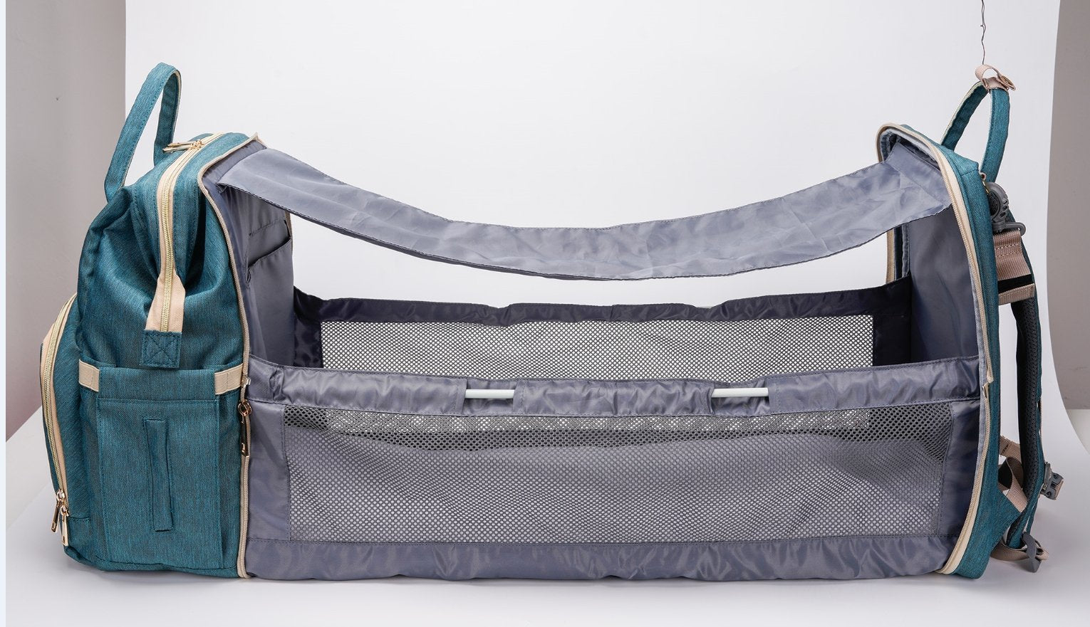 Diaper Bag with Bed | Natural Baby™ - Bluthopia