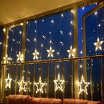 Christmas Decorations Star Lights - Bluthopia