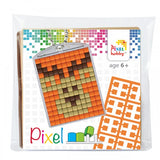 Pixelhobby Mosaic Deer Keyring Kit Keyring Including Chain Craft Kit