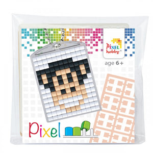 Pixelhobby Mosaic Monkey Keyring Kit Keyring Including Chain Craft Kit