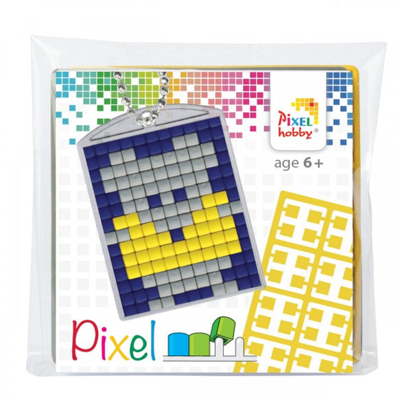 Pixelhobby Mosaic Mouse Keyring Kit Keyring Including Chain Craft Kit