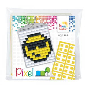Pixelhobby Mosaic Smiley Keyring Kit Keyring Including Chain Craft Kit