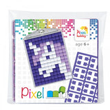 Pixelhobby Mosaic Unicorn Keyring Kit Keyring Including Chain Craft Kit