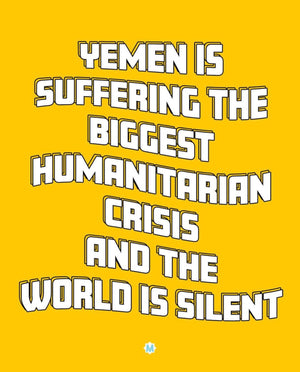 Yemen Is Suffering and the World Is Silent