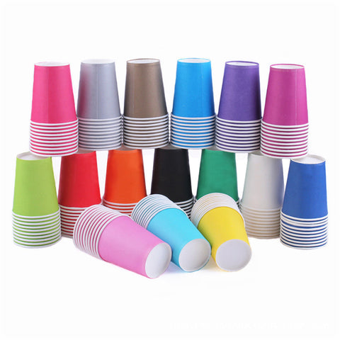 (12) 20 Party Paper Cups Choose color only $6 FREE SHIP - $8 on Amazon plus ship