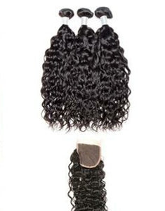 Water Wave 3 Bundles w/Closure