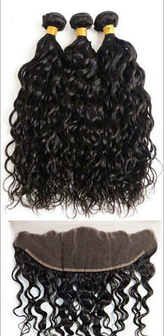 Water wave bundles and frontals