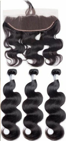 Brazilian body wave bundles and frontals
