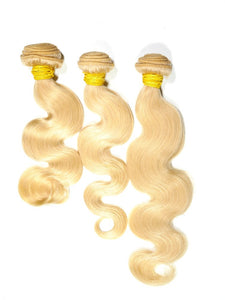 Russian Blonde Body Wave Bundles