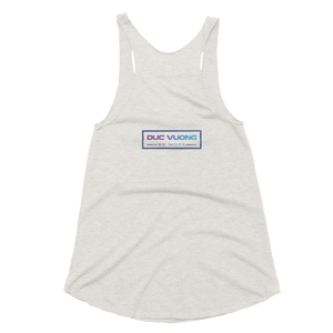 Progress Not Perfection Women's Tri-Blend Racerback Tank