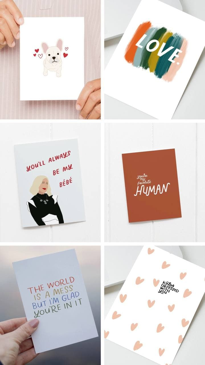 Say it with a card..