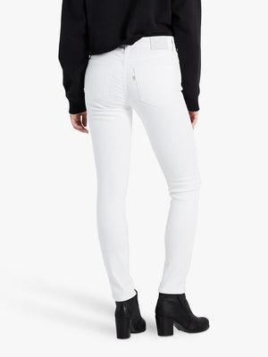 721 High Rise Skinny - Western White