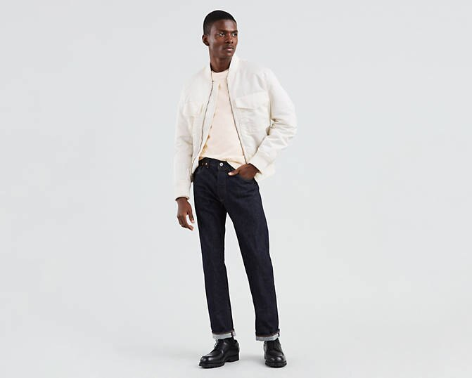501® Original Fit Men's Jeans- LEVI'S® MADE & CRAFTED®- Rinse