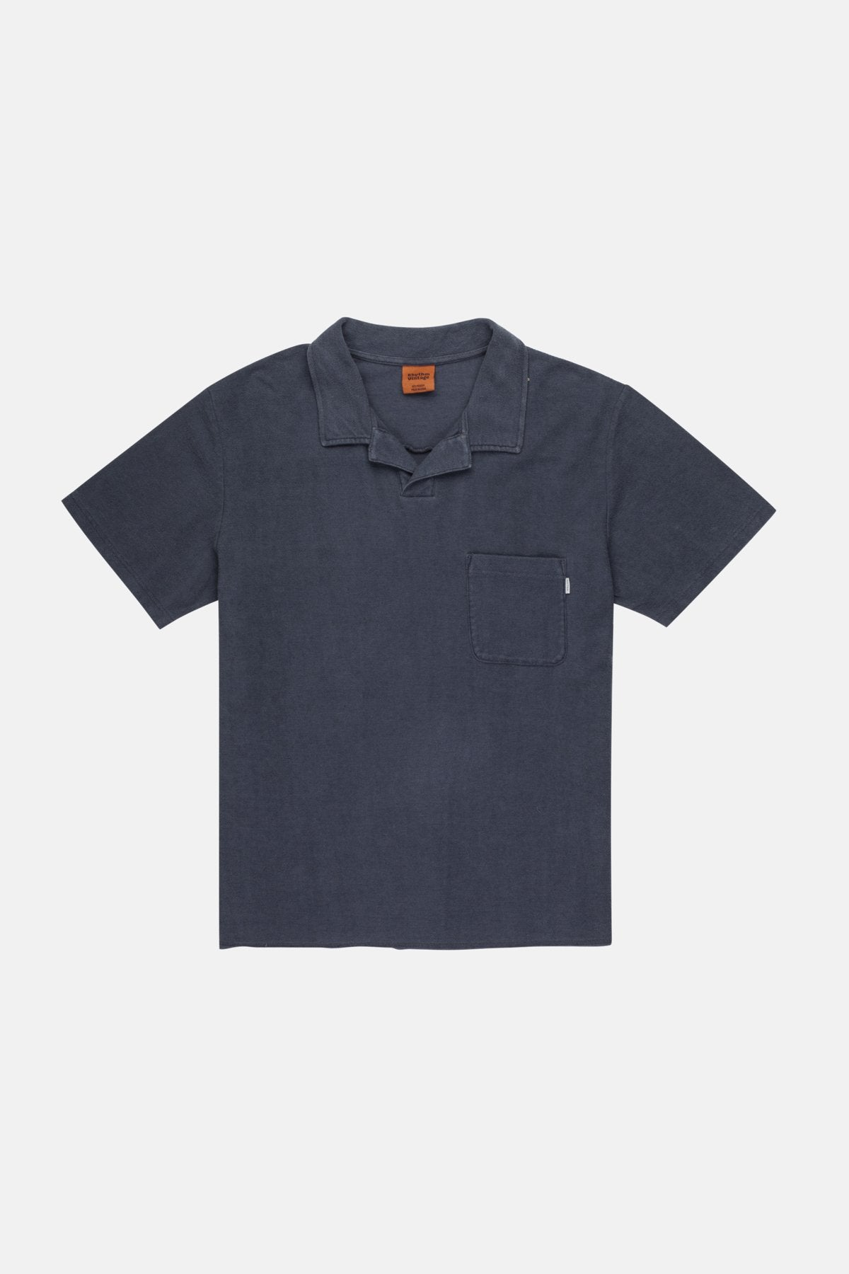 Vintage Terry Polo- Navy