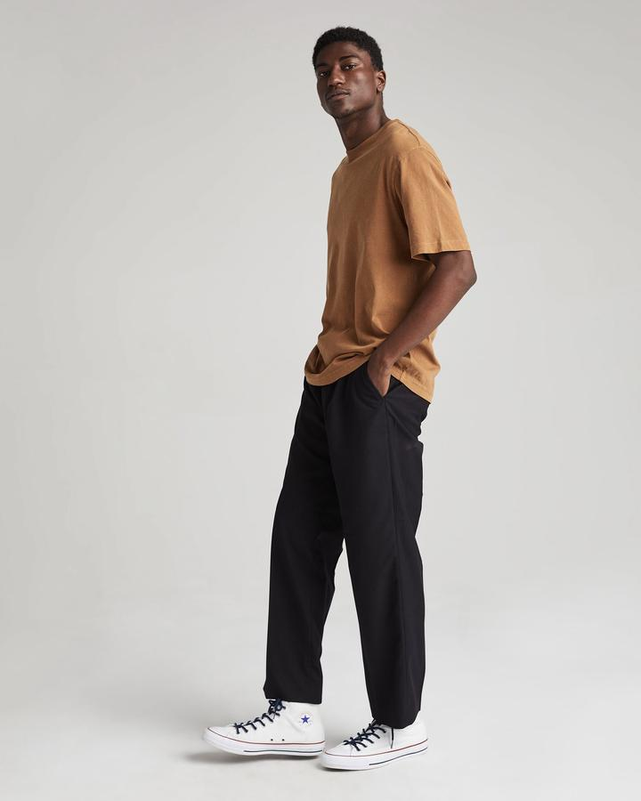 Relaxed Short Sleeve Tee- Woodgrain