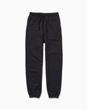 Recycled Fleece Sweatpant - Black