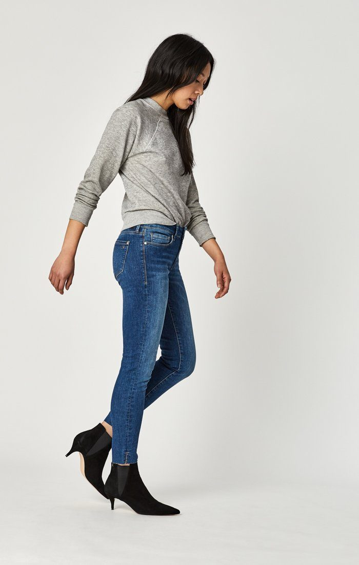 Adriana Ankle Super Skinny- Shaded Tribeca