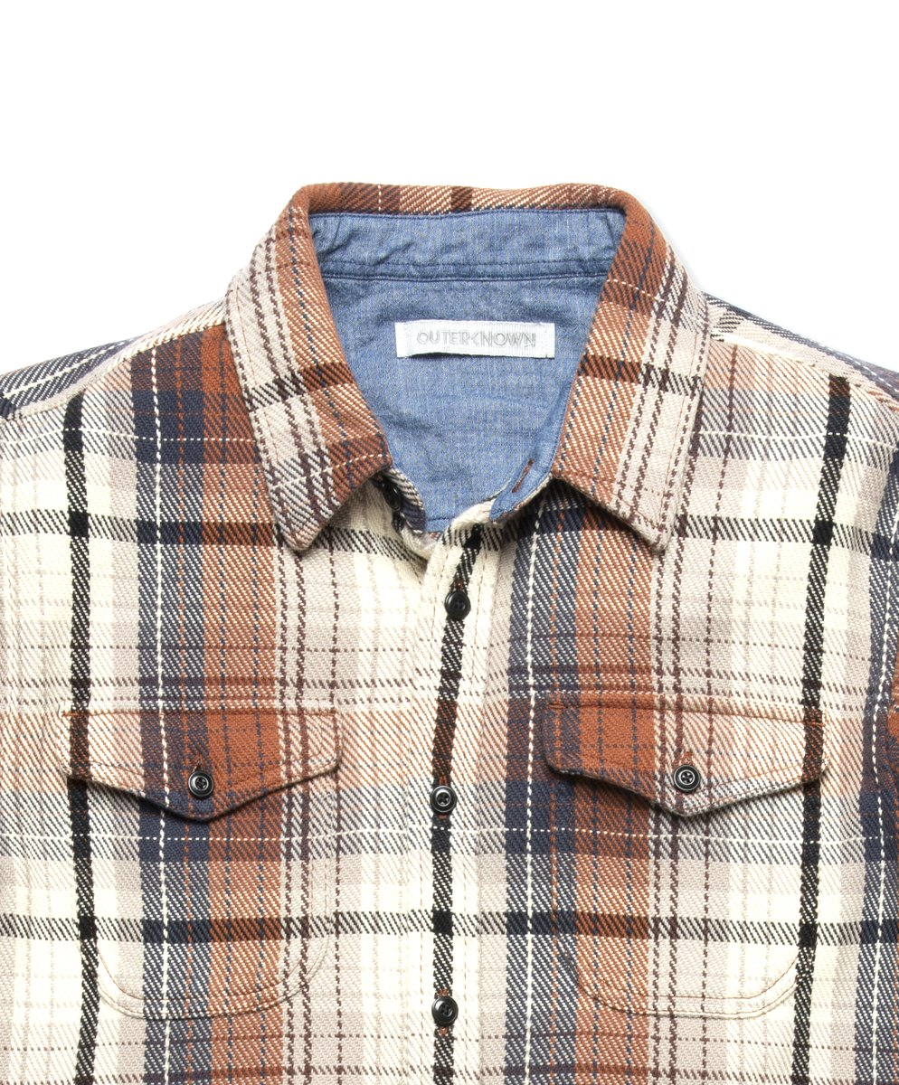 Blanket Shirt- Earth Seaview Plaid