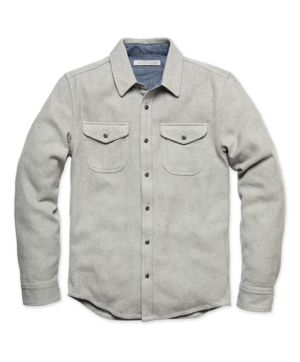 Blanket Shirt- Heather Grey
