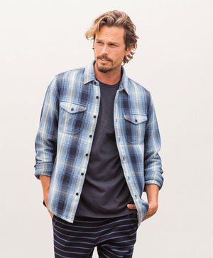 Blanket Shirt- Puget Plaid