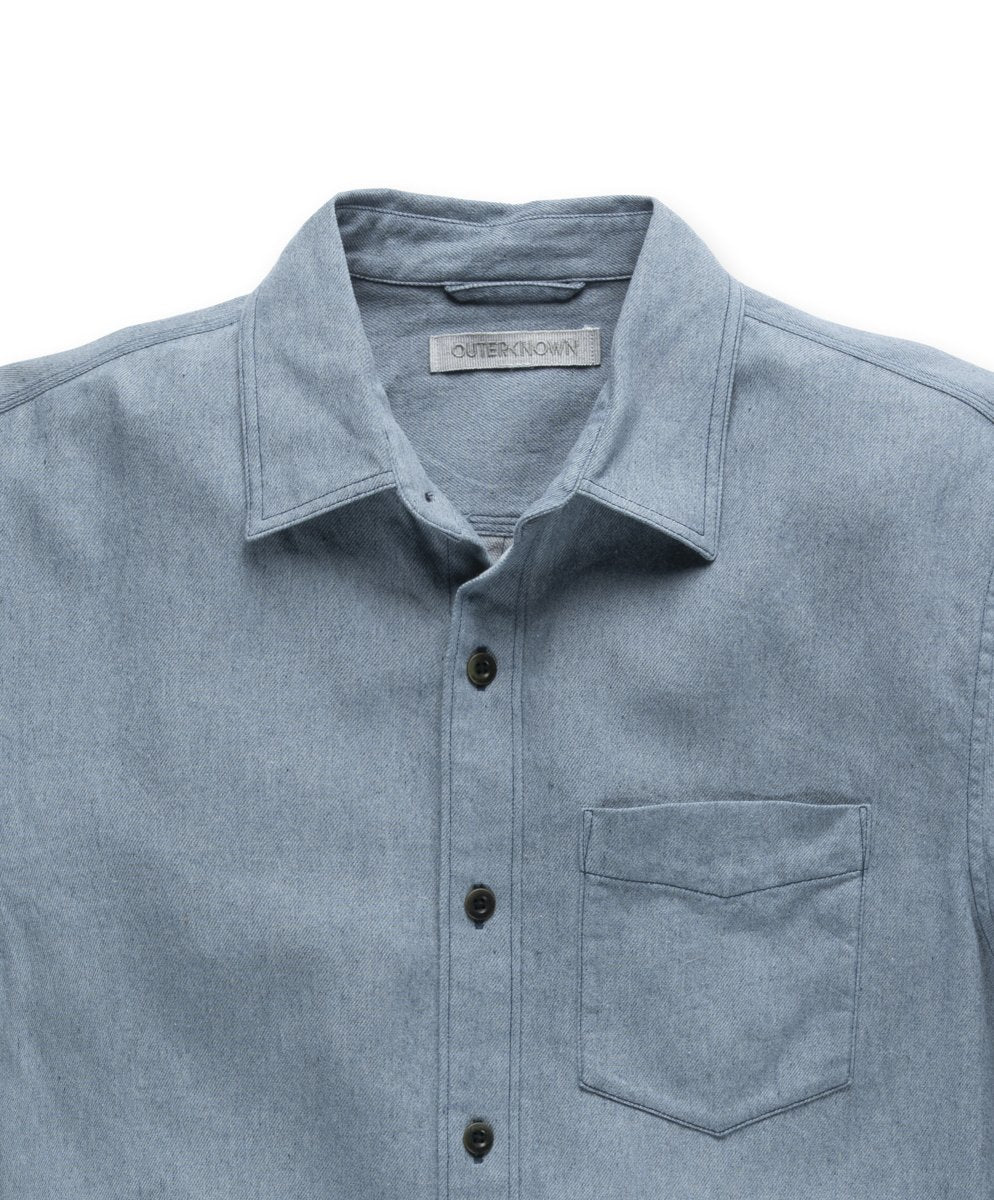 Chambray Shirt- Recycled Denim