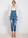 White Haven Denim Jumpsuit