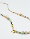 Rhythm Road Necklace - Mint
