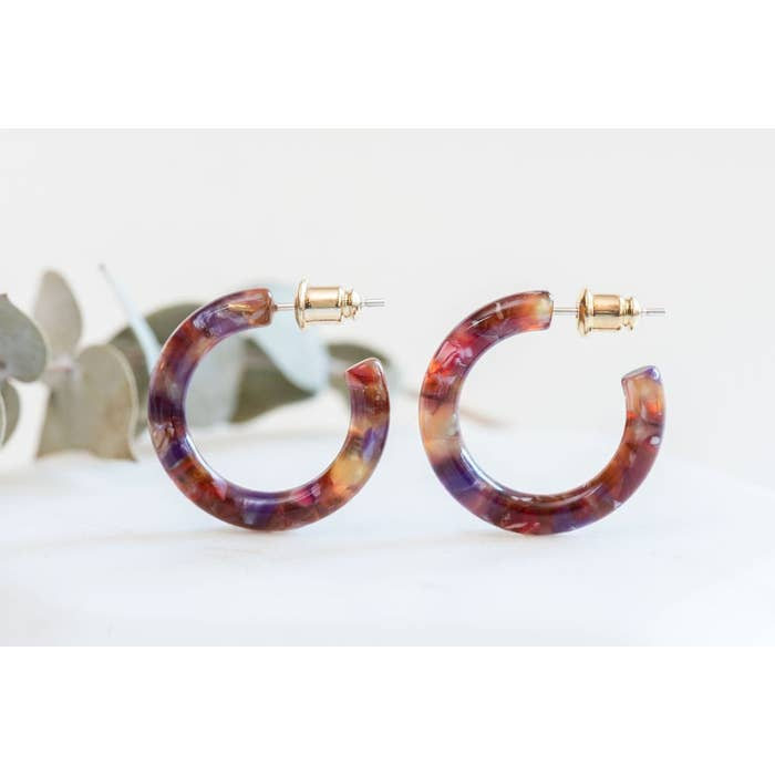 Ultra Mini Hoops- Rosehip