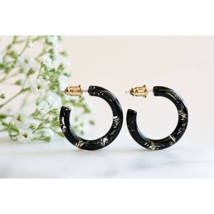 Ultra Midi Hoops- Black