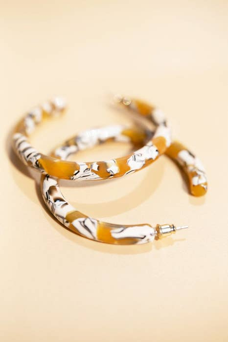 Luna Hoops- Sunflower