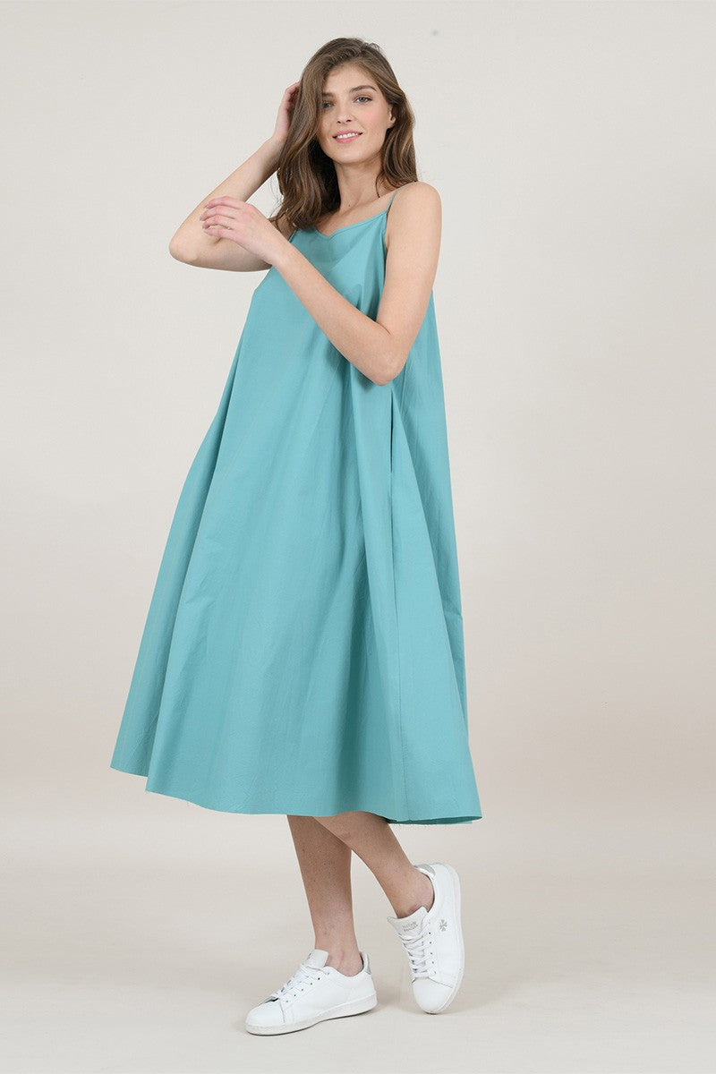 Flare Dress with Knot