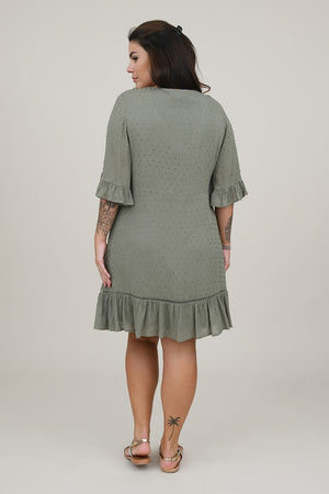 Shift Plumetis Dress