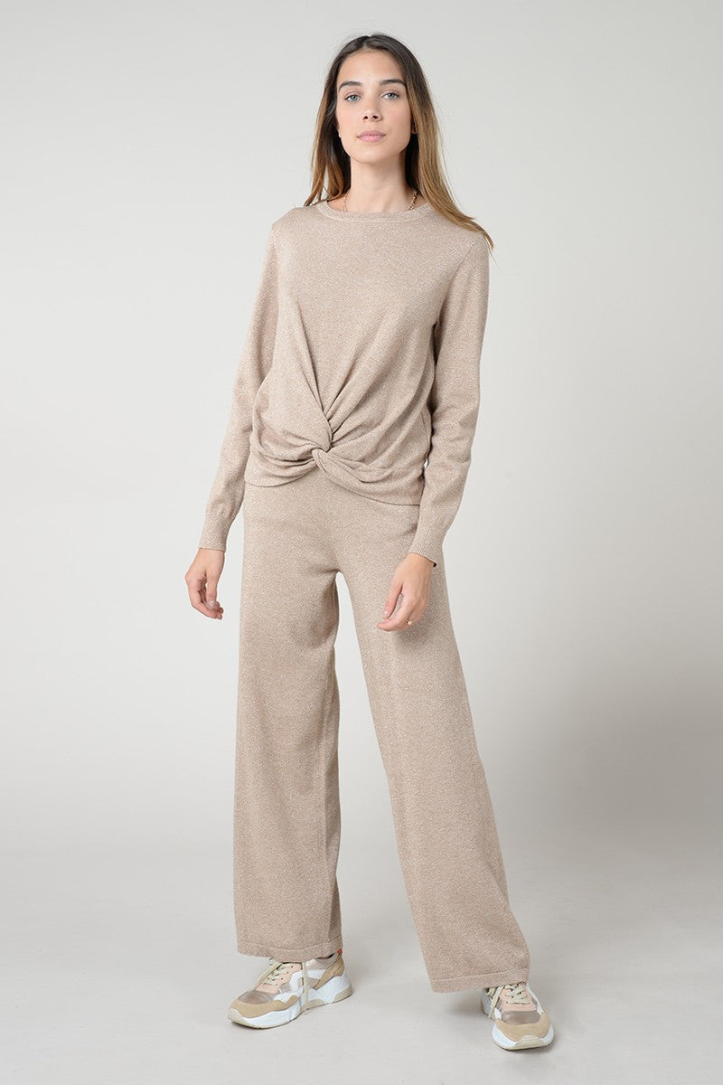 Flare Knitted Pant