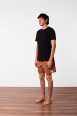Box Jam Shorts- Almond