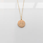 Constellation Charm Necklace- Cancer