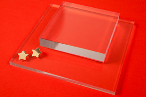 Small Star Earring- Brass