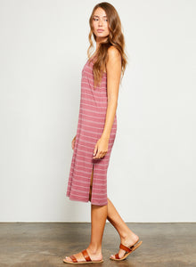 Celinne Dress- Stripe