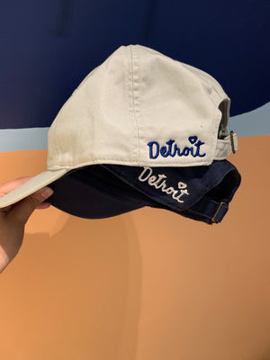 Detroit Hat- Navy