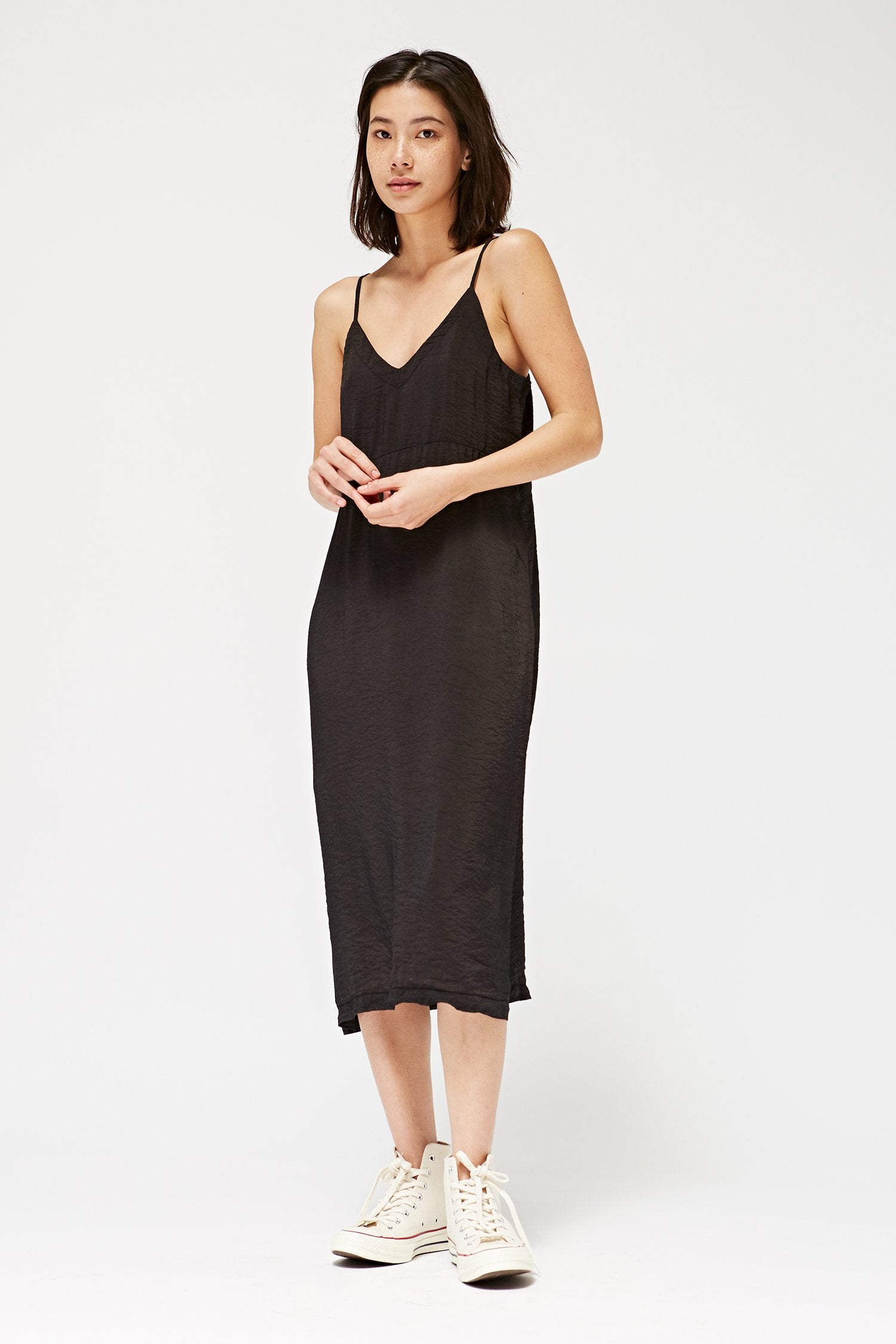 Alma Slip Dress- Tar