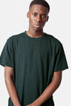 Basic Slub T- Shirt- Teal