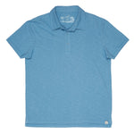 Madison Loose Knit Polo- Niagara