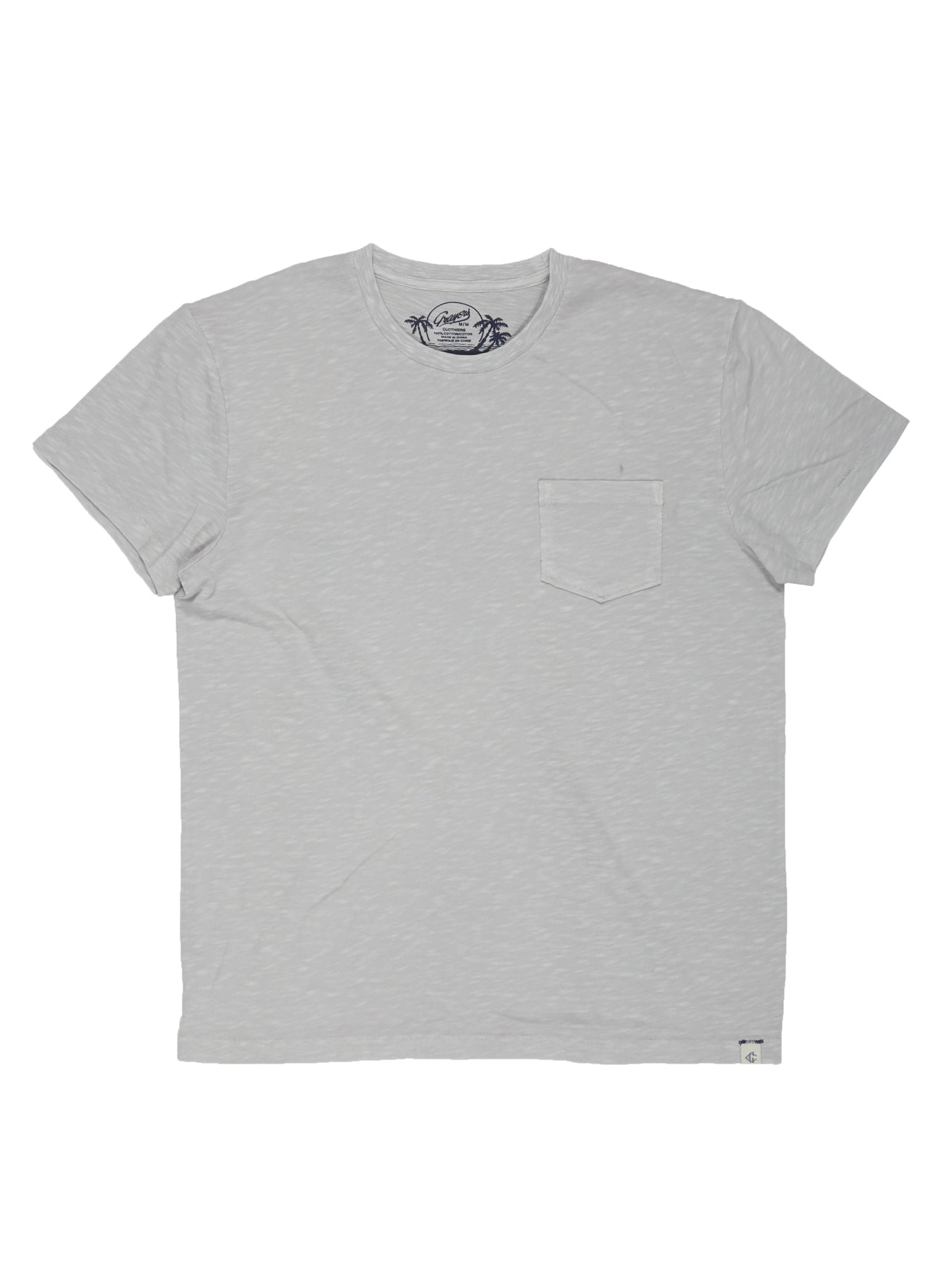 Madison Loose Knit Tee- Micro Chip