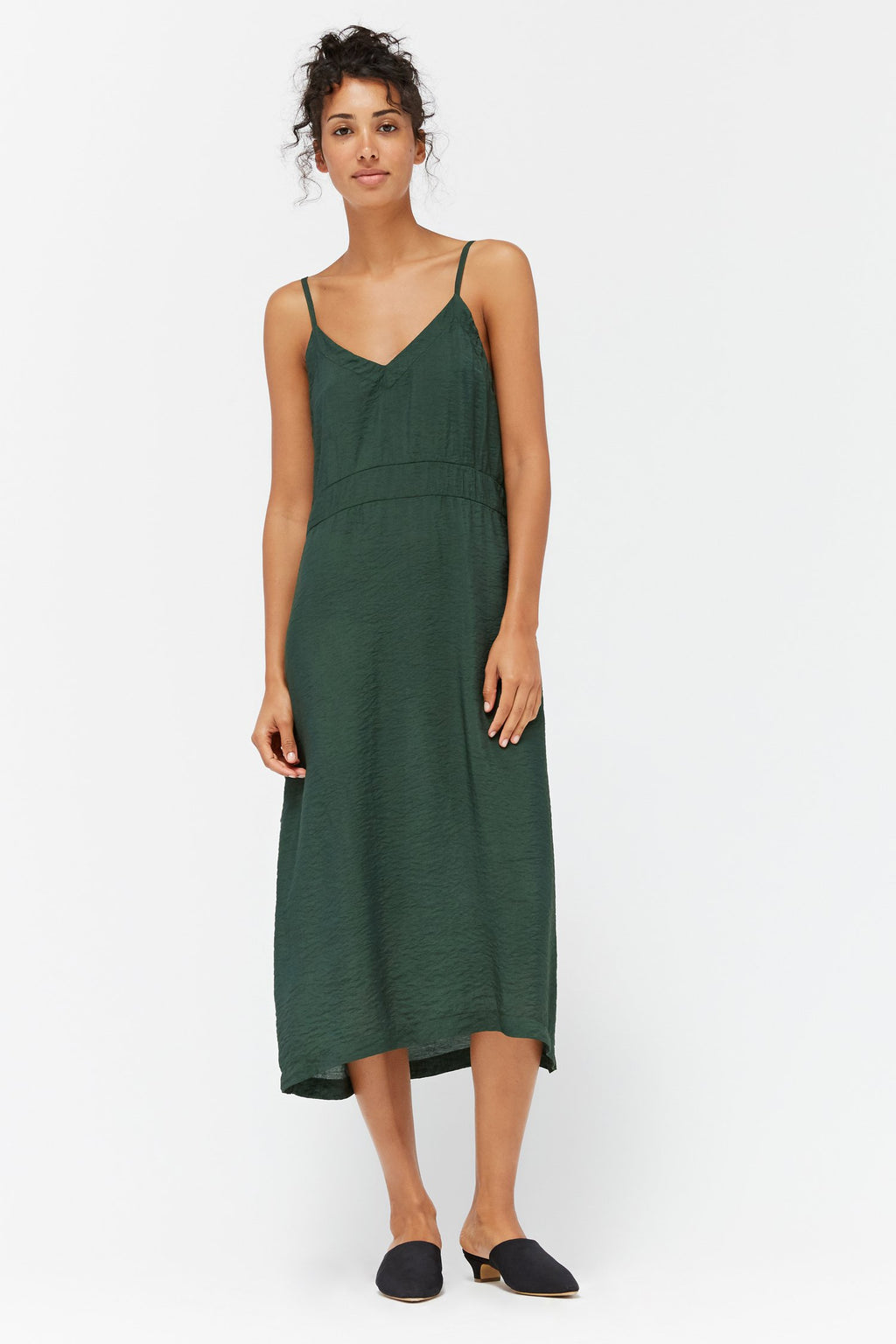 Alma Slip Dress- Absynthe