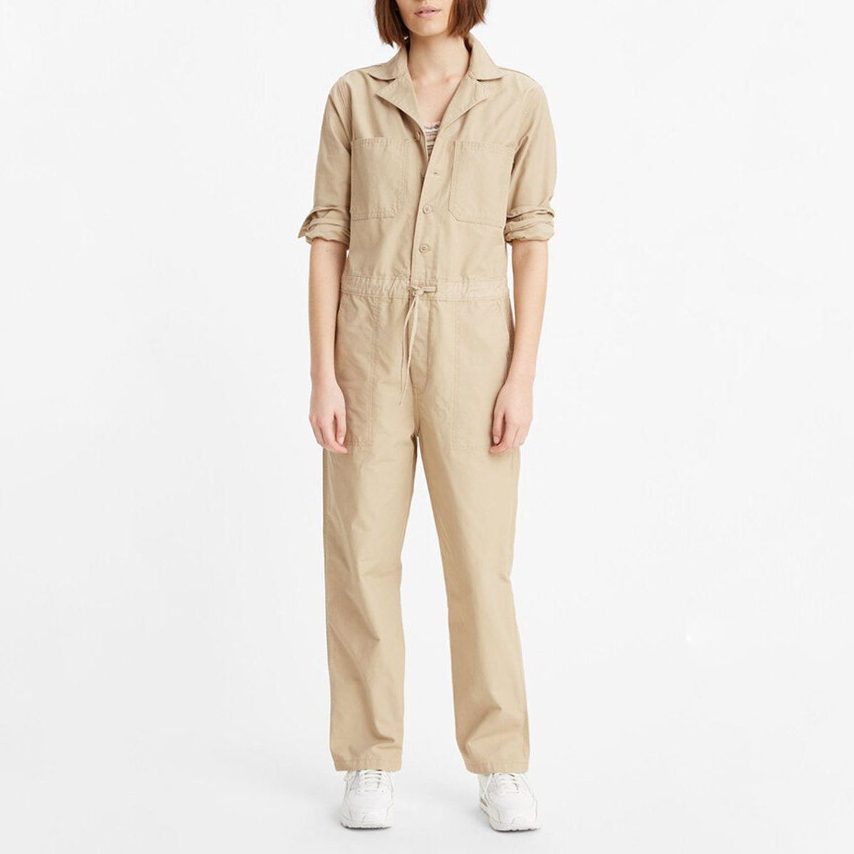 Twill Utility Jumpsuit