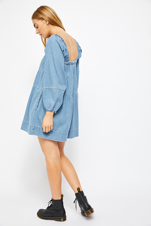 Blue Jean Baby Doll Dress